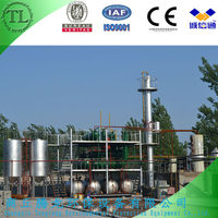 Waste tyre oil recycling to diesel plant withCE/ISO