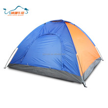 Single layer Inflatable camping tent for family tourism