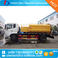 Street cleaning trucks DONGFENG combine road sweeping and road washing truck