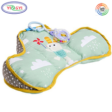 G219 Natural Developmental Ergonomic Design Perfect For 2-6 Months Old Babies Baby Tummy Time Pillow