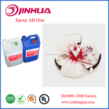 Good Quality Clear Transparent Liquid Crystal AB Glue Epoxy Doming Resin For Gifts