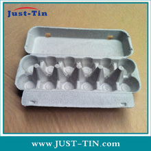 Shockproof Custom Molded Paper Pulp Egg Carton/Egg Tray