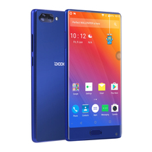 5.5'' Narrow Bezel HD Screen Helio P25 Octa Core Fingerprint Unlock Android 7.0 China brand DOOGEE MIX phone