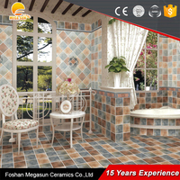 New products on china market non-slip stair tile/flower ceramic floor tile