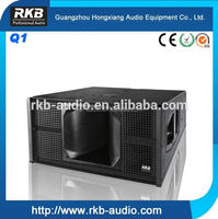 Live Sound Stage PA Music Speaker System pro audio Q1