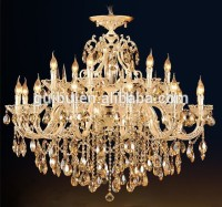 Crystal Chandelier Light Big Pendant Candelabros Modern Hotel Light