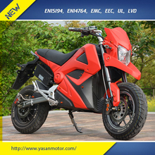 EEC 72V 30Ah Electric Motorcycle 2017 Hot Selling Electric Scooter 3000W For Sales