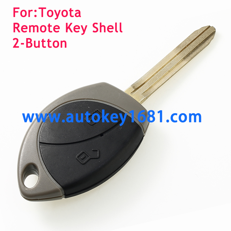 New Remote Key Shell Case Fob for 2 Button for Toyota key cover