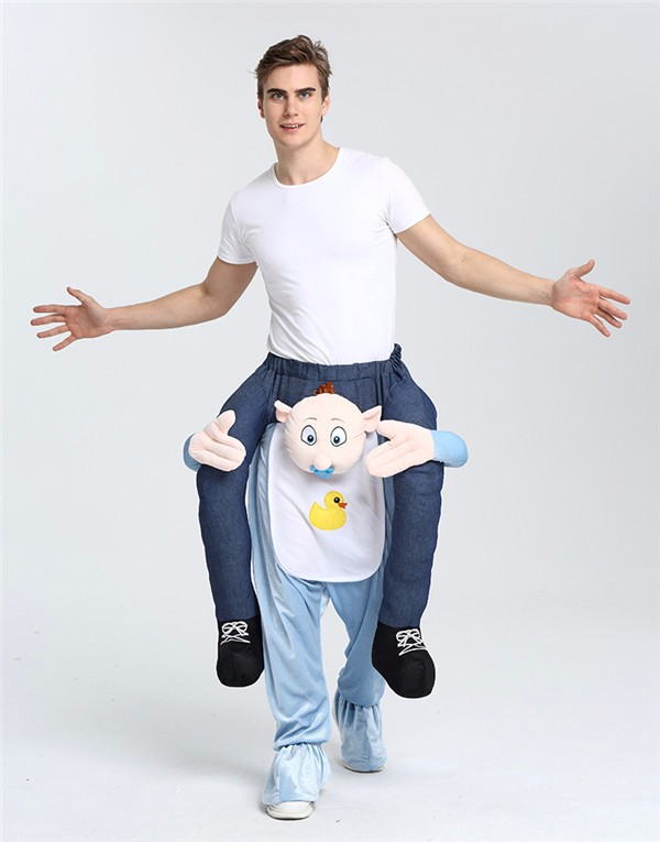 Custom High Quality Adult Costume Carry me Baby Costume