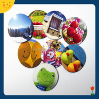2014 round paper fridge magnet promotional magnet for fridge