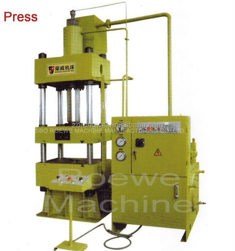 YB32 Series 250 ton 4 post up-acting hydraulic press