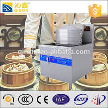 Restaurant large power induction commercial electric steamer for frozen dim sum wholesale/food steamer