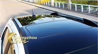 3 Layers 1.35X15M Air Free Bubbles Black Gloss Car Roof Support