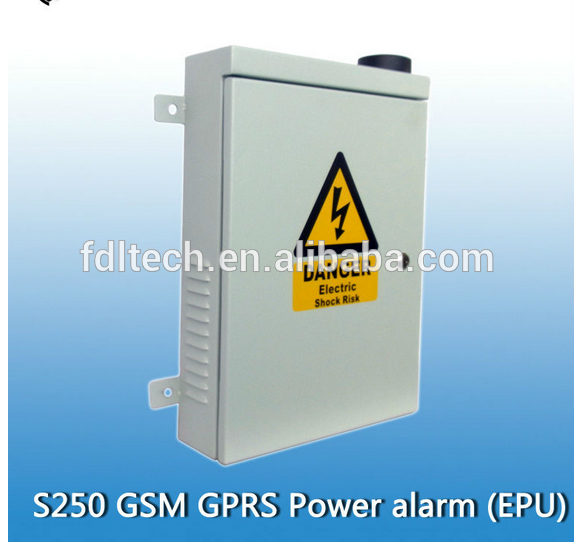 new Standard List 2 FDL-S250 outdoor Unman station monitoring contr device GSM Alarm For Power Grid,transformer,GPRS power alarm