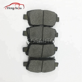 Long Time Working Cheap Front Brake Pads Car for Geely 1014003350