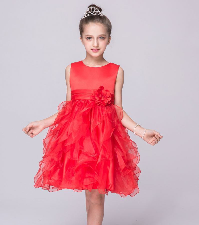 Models newest in bulk high quality kids girl princess dress
