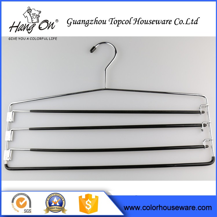 Cloth Wire Hanger , Wire Hanger And Trouser Guard