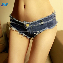 New Fashion Women Slim Sexy Casual Club Jeans Super Mini Shorts