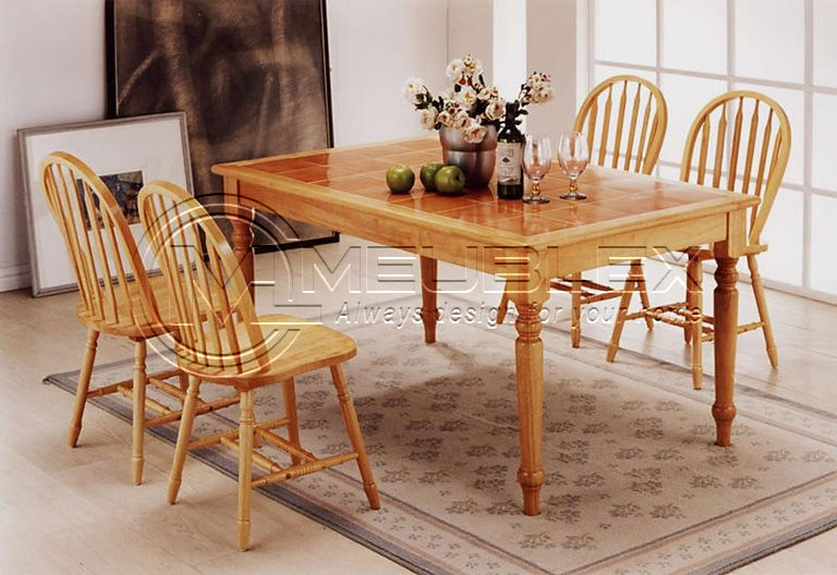 Ella Tile Top Dining Set