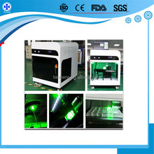 new model 2d 3d crystal cube glass 3d photo laser sub surface engraving machine