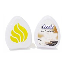 OEM Canned gel air freshener/ car perfume with long lasting for car or office
