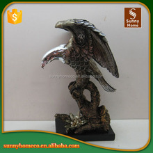 Home Decorative Art Resin Eagle Garden Sculpture
