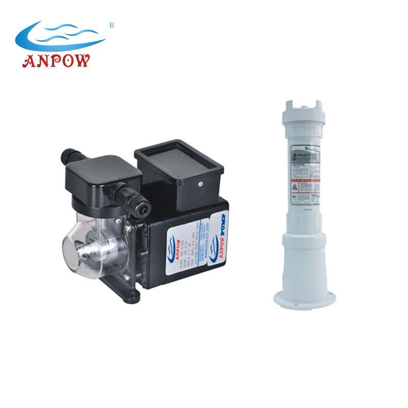 Made-in-China ANPOW 60w/220v Swimming Pool Chemical Dosing Pump Automatic Chlorine Feeder