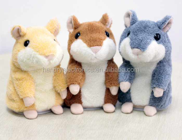 Chatimal the Talking Hamster Plush Animal Toy