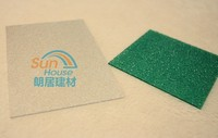 Frosted Polycarbonate Solid PC Sheet with UV Cover plastic panel