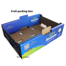 Corrugated Printing Handling Paper Boxes for Fruit