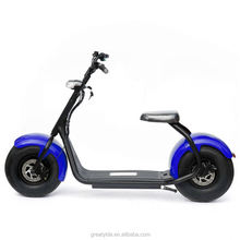 YIDE Recommend Powerful High Speed Lithium Battery Citycoco 1000W EEC Fat Tire Electric Scooter