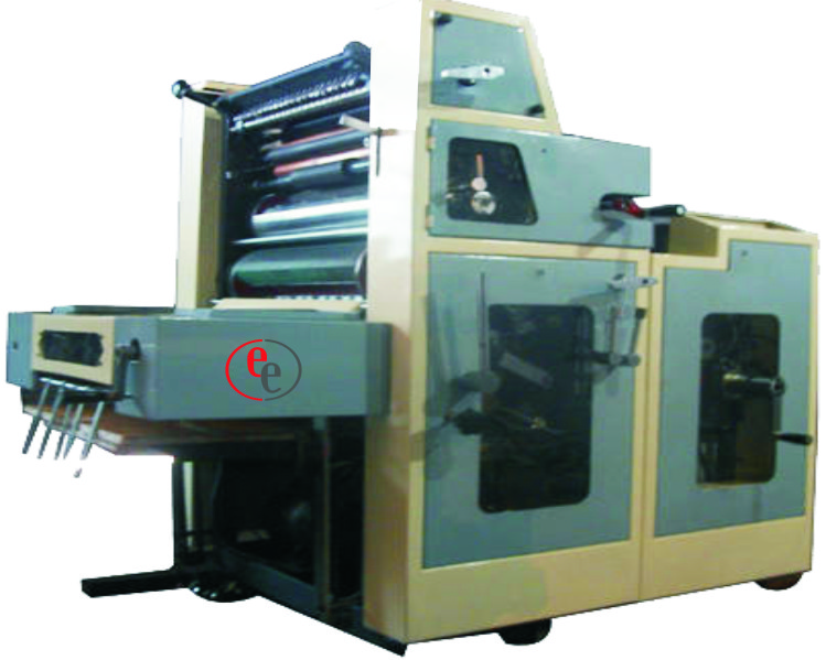 offset litho printing machine