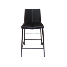 popular modern furniture bar chair with steel painting feet