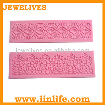 FDA silicone lace fondant decorative cake molds