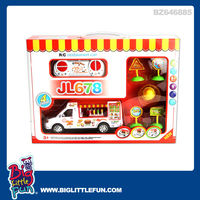 4 channel rc restaurant car play set with music and light