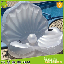 Giant inflatable float pool holiday Lake/Beach Seashell Float inflatable shell Pool Float For Adults