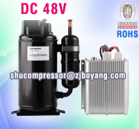 DC 48V compressor for New Condition and Room Island mountain telecom station vessel Use Battery Powered Air Conditioner