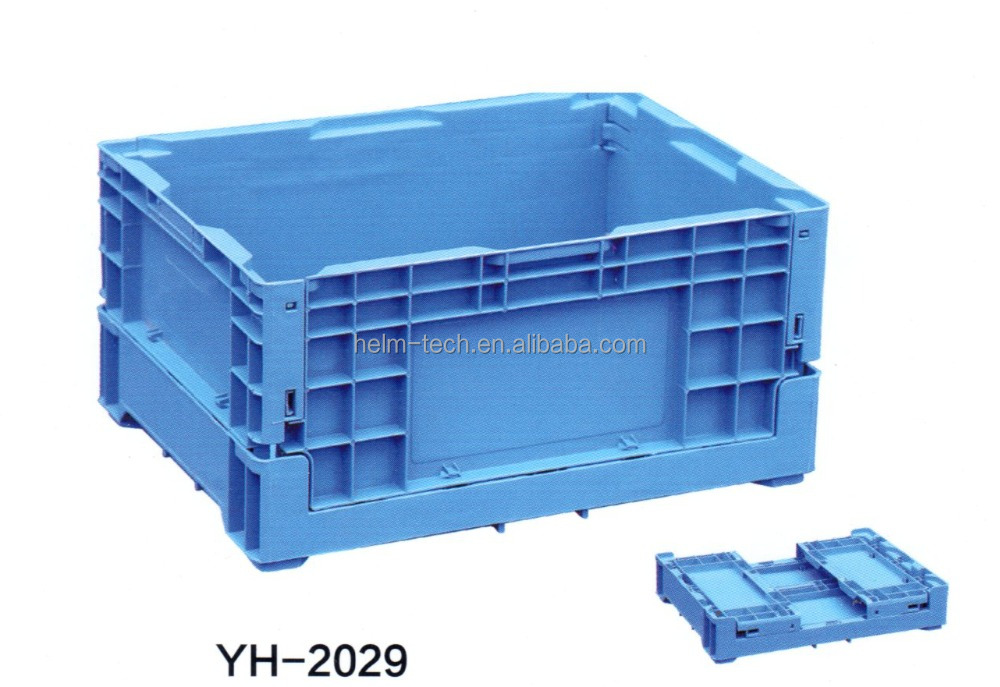 foldable plastic container for fruits and vegetables