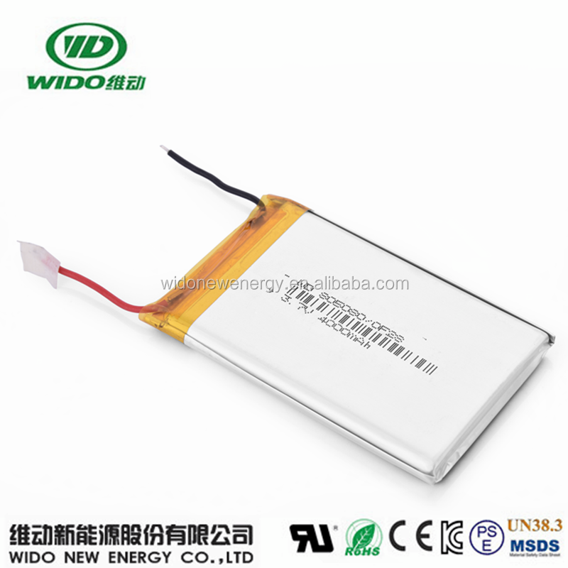 li-polymer 4000mah battery 606090 backup battery for gps tracker, power bank