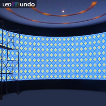 P12.5 Indoor Rental led Mesh Screen Video curtain Full Color Back Stage Led Display Panel Price Pantalla Gigante