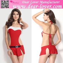 Hot online sexy sexi lingerie christmas tree costume