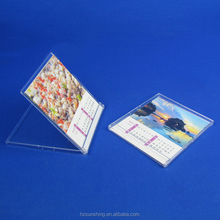 High quality underquote clear plastic CD calendar cases