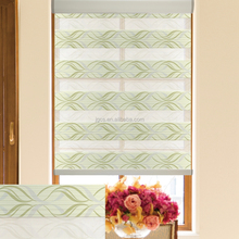 new style printed pleated rainbow zebra blind fabric for roller curtain and blackout window decoration curtain blind