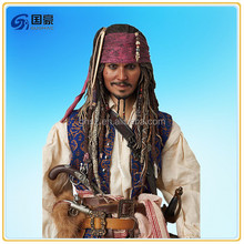Wholesale resin high detail hot toys jack sparrow figure