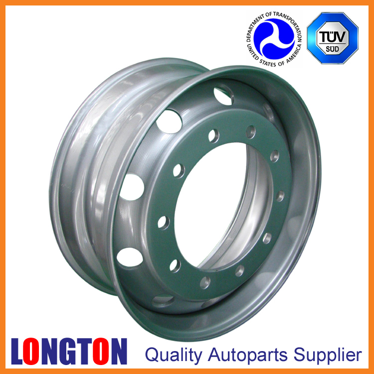 Steel Wheel 22.5x8.25 Tubeless European Type for MB ACTROS
