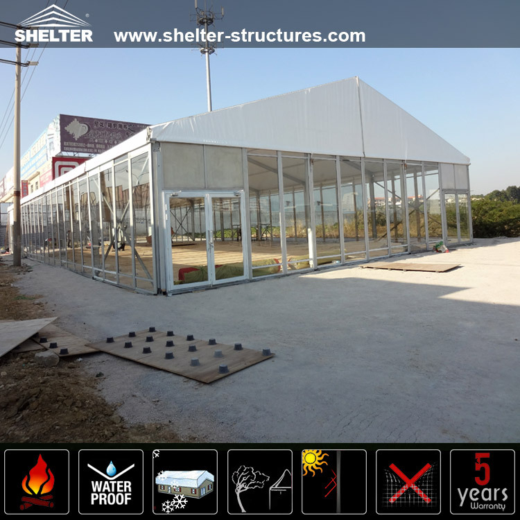 Air conditioned dinning hall tent for sale