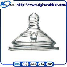 High quality food grade injection silicone nipples for babies