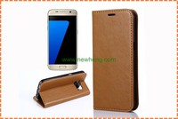 For Samsung galaxy s7 wallet case,high quality OEM/ODM leather phone case for Samsung galaxy s7