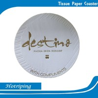 Hot sale tissue paper hotel supplier coffee coaster