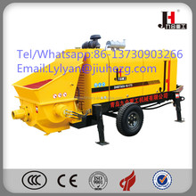 Small portable trailer concrete pump for sale in China